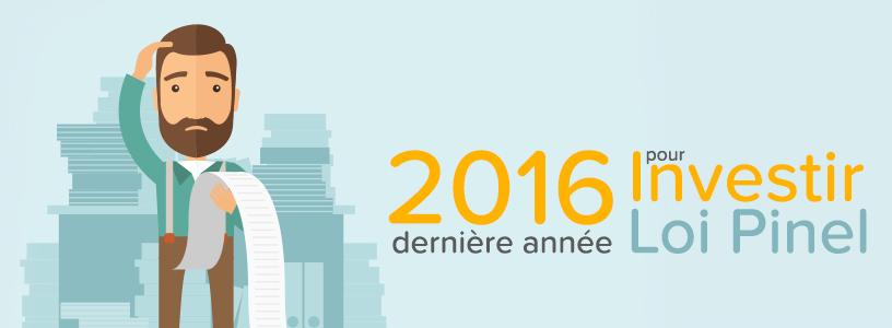investir loi Pinel 2016
