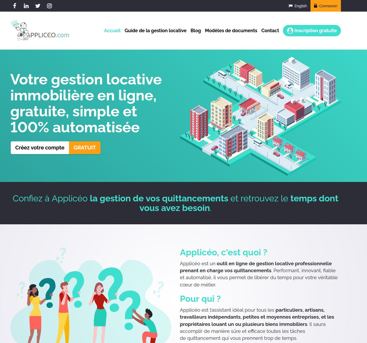 plateforme de gestion locative Appliceo